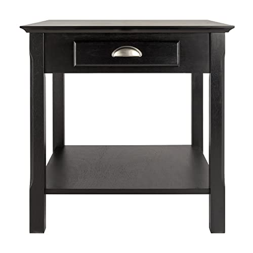 Winsome Wood Timber Occasional Table, Black