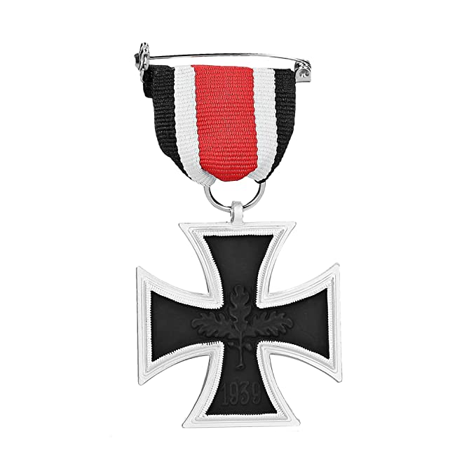 1939/1957 German Iron Cross (2nd Class) Medal with ribbon - Military Medal  for Bravery - REPRO
