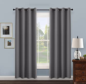panel blackout grey gray living panels plans silver space with velvet curtain curtains