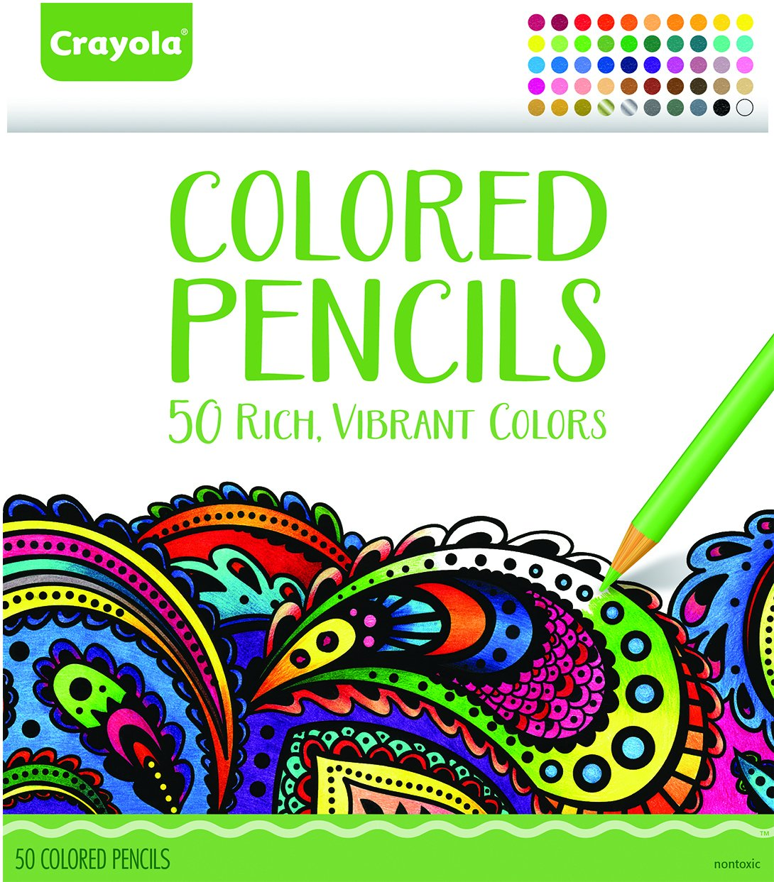 Crayola pencil colored set
