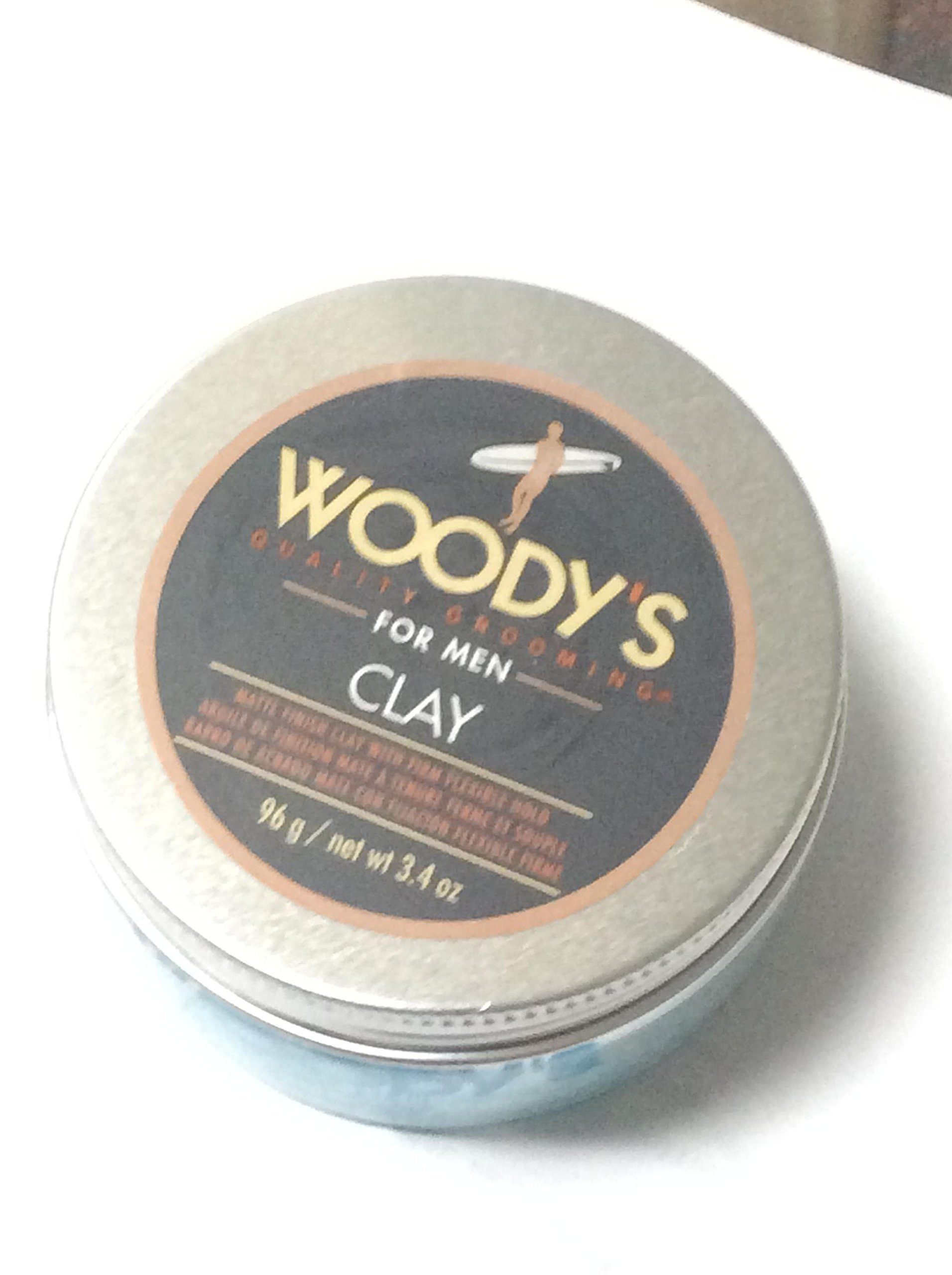 Woody's Clay Pomade, 3.4 Ounce