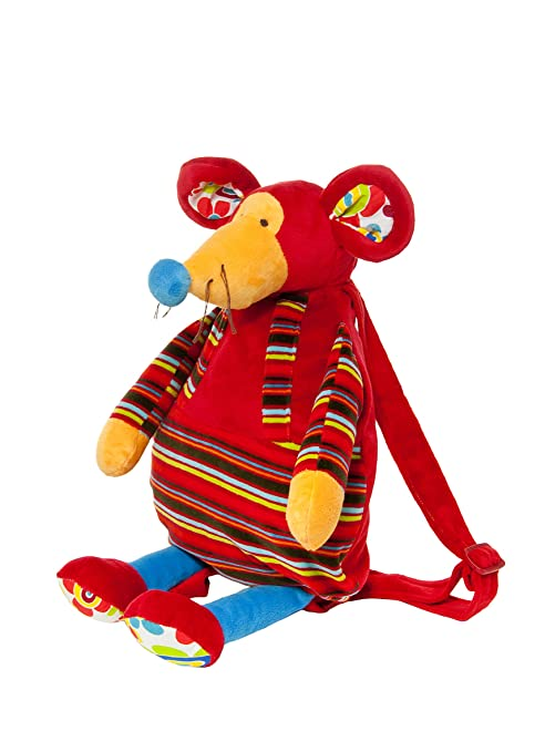 Mousehouse Gifts Bolsos y mochilas de peluche mochila suave y blandita en forma de ratón para