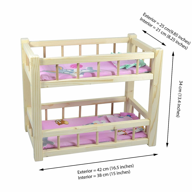 Salle De Bain Qweenie ~ jouet en bois pour enfants lits superpos s pour deux poup es avec