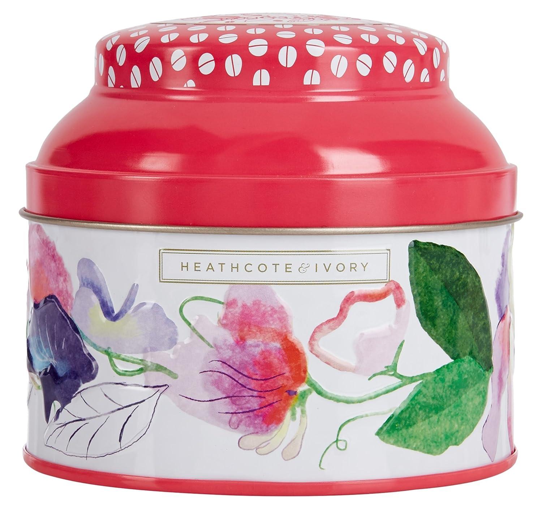 Heathcote & Ivory Sweet Pea and Honeysuckle Talc Powder with Puff, 130 g FG5614