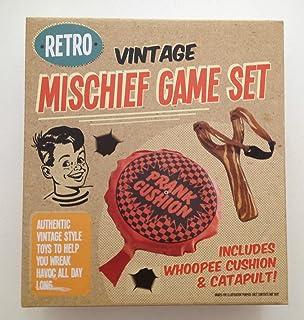 Retro Vintage Mischief Game set include Petofoni & catapulta New Xmas Gift–free P & P