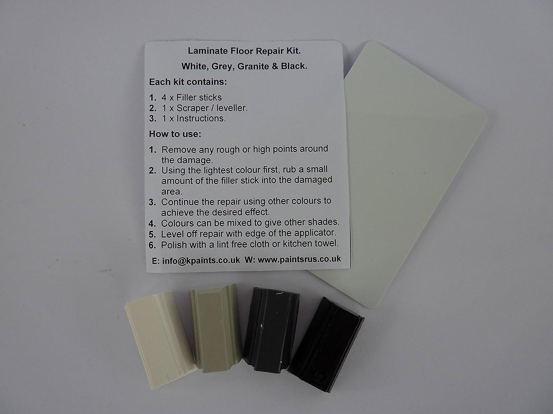 1 X White Grey Black Granite Laminate Floor U0026 Worktop Repair Kit:  Amazon.co.uk: DIY U0026 Tools