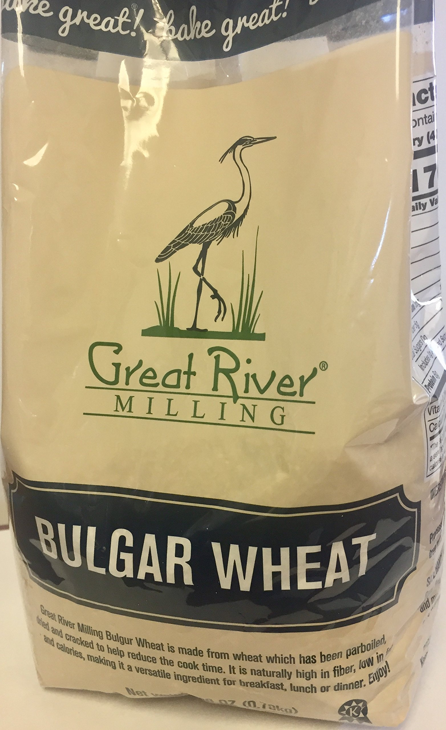 Great River Milling Bulgar Hard Red Wheat, 28 Ounce (Pack of 4) by Great River Organic Milling