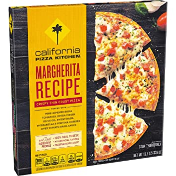 CALIFORNIA PIZZA KITCHEN Margherita Recipe Crispy Thin Crust Frozen ...
