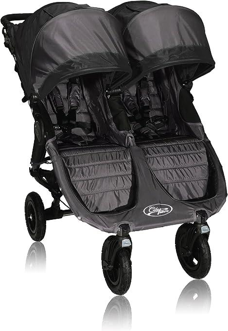Baby Jogger City Mini2 Cochecito doble Negro: Amazon.es: Bebé
