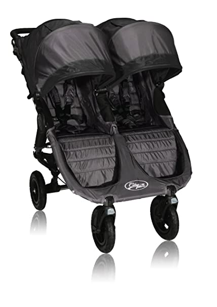 MINI Cochecito GT Doble Baby Jogger City (Negro)