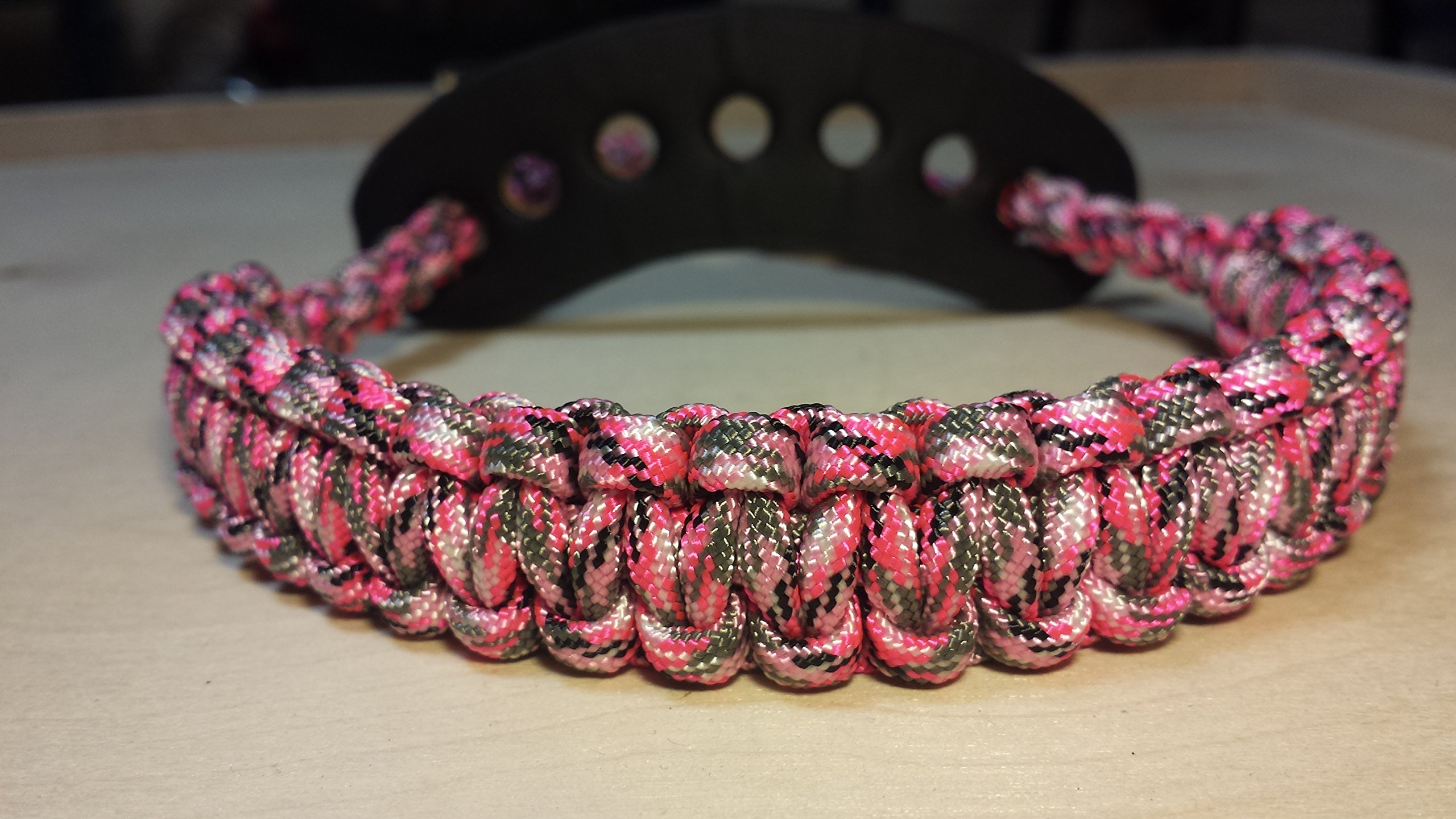 Muddy River Gear Archery Bow Wrist Sling Pretty in Pink Camo