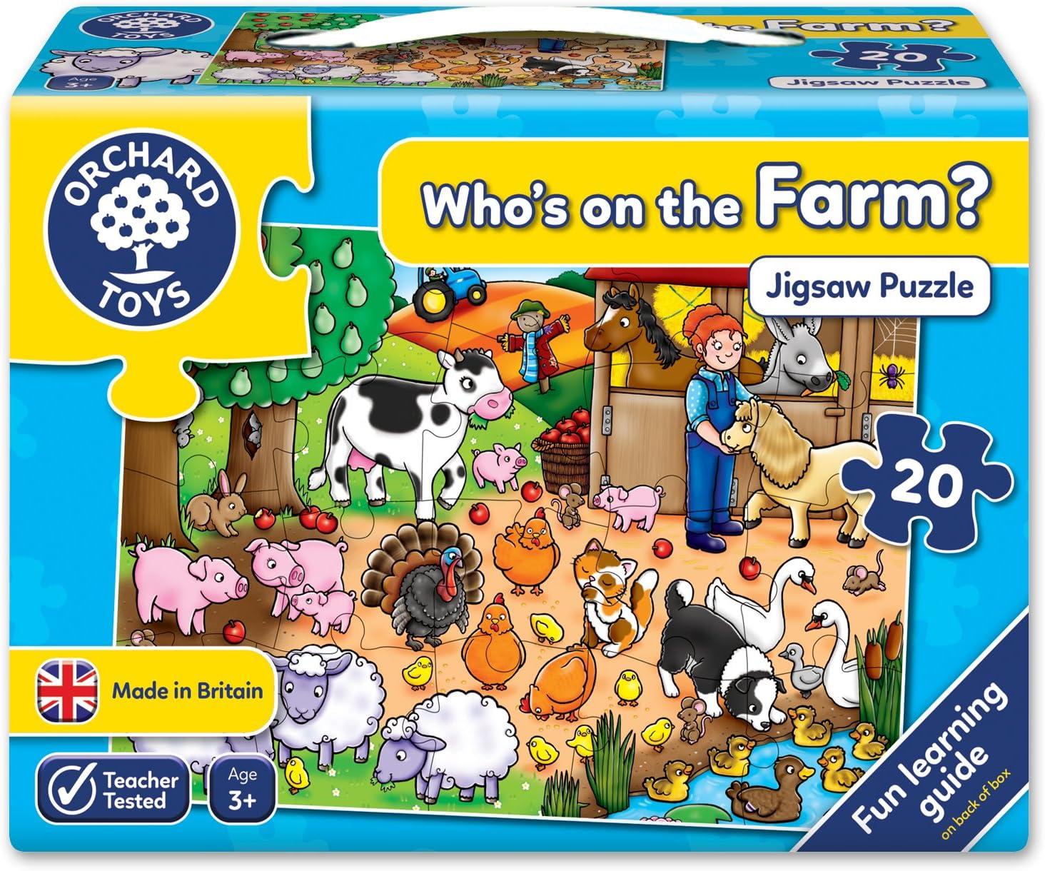 Orchard/_Toys Puzle de granja importado del Reino Unido