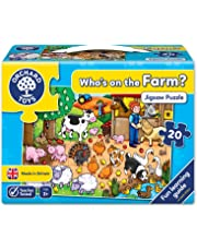 Orchard Toys Who's on the Farm? Jigsaw Puzzle