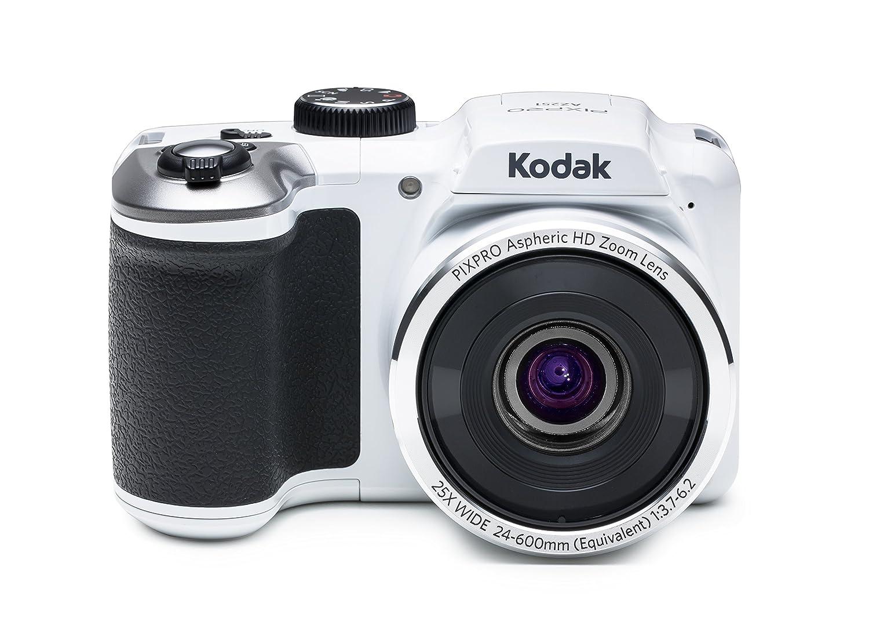 Kodak PIXPRO Astro Zoom AZ251-WH 16MP Digital Camera with 25X Optical Zoom and 3