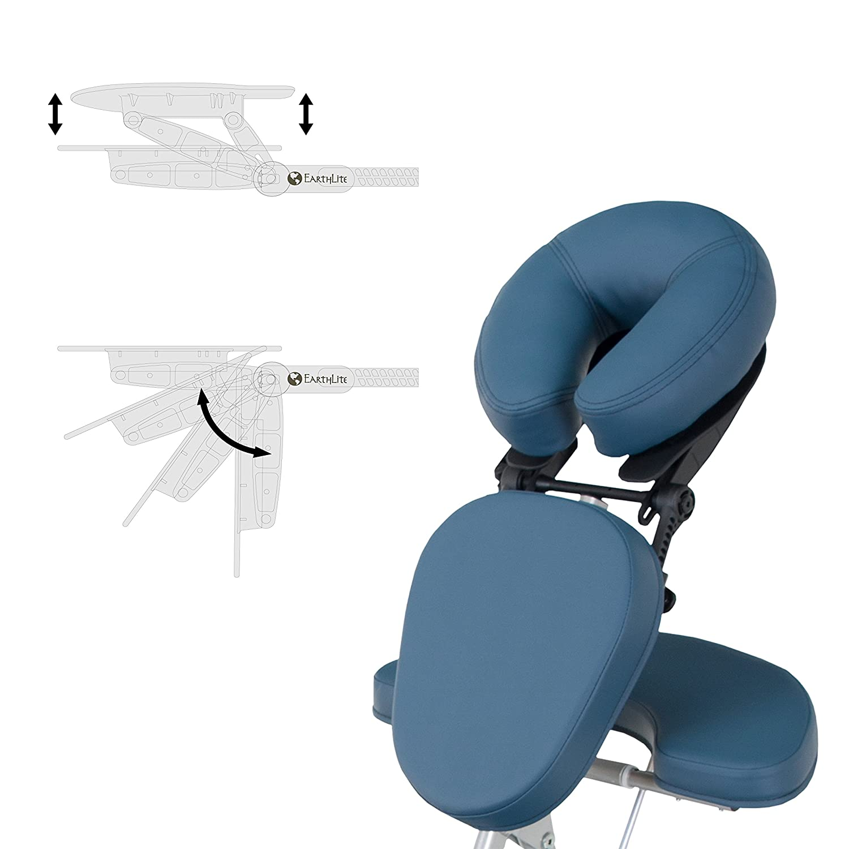 Amazon EARTHLITE Vortex Portable Massage Chair Package