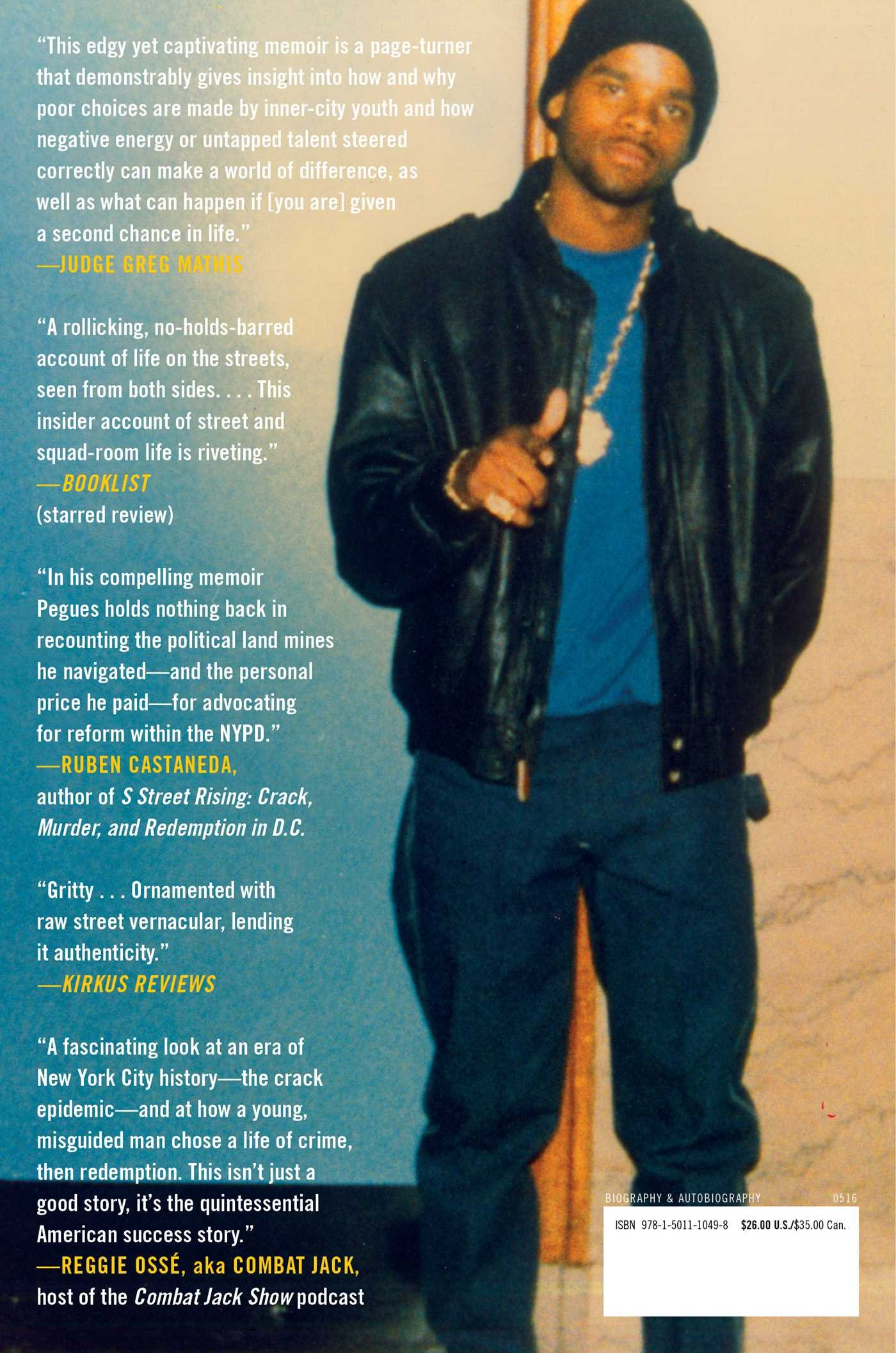 Once a Cop: The Street, the Law, Two Worlds, One Man: Corey Pegues ...