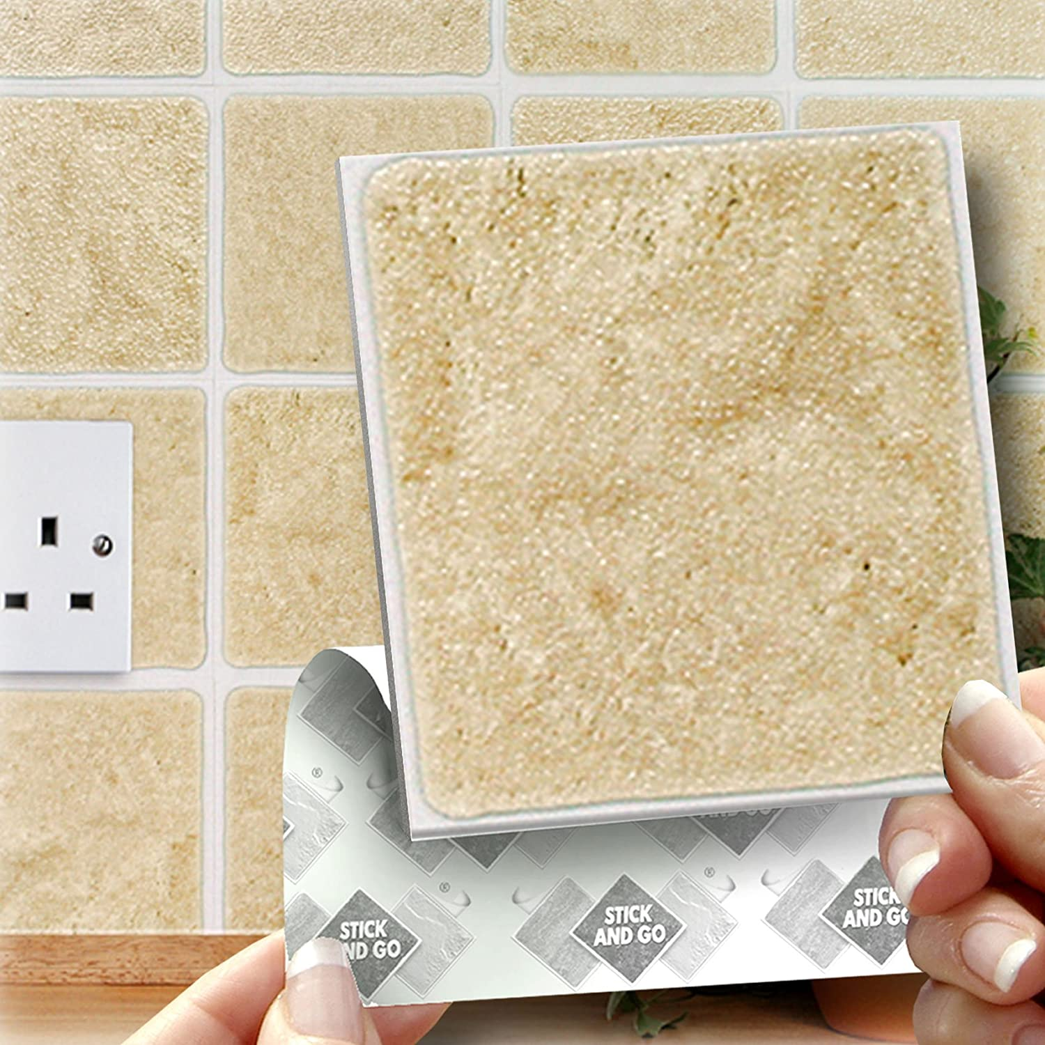 Kitchen Wall Tile Stickers - gigadubai.com -