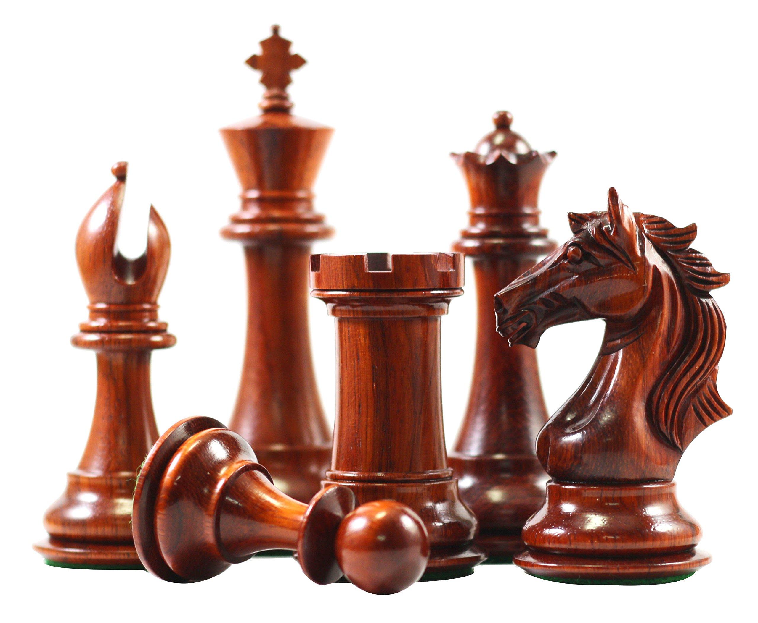Elite Series Premium Staunton 4'' Chess Set by Staunton Empire (Image #4)