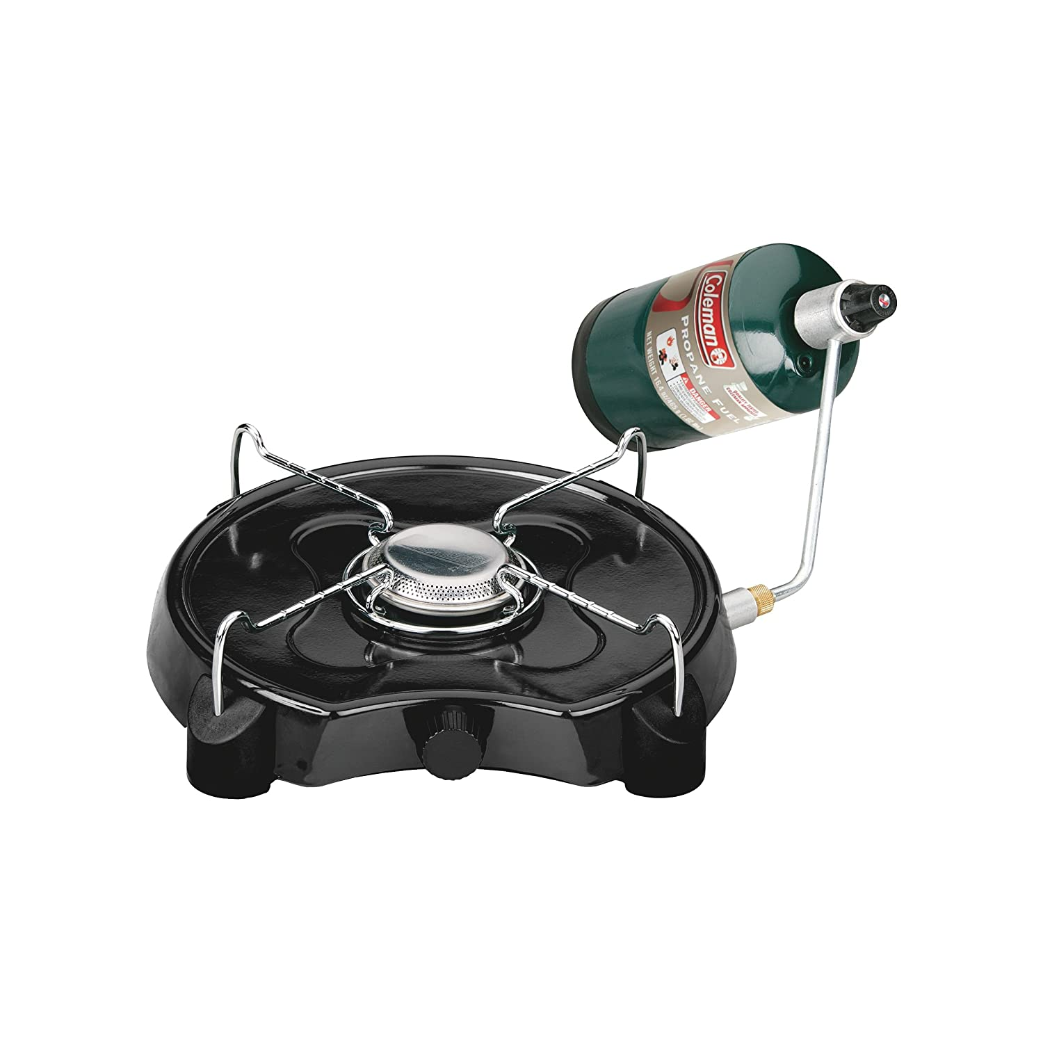 """Coleman Powerpack Propane Stove,Coleman Green,4"""" H x 13.38"""" W x 12.5"""" L"""