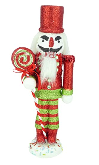 christmas concepts 12 glitter foam christmas nutcracker soldier decoration various colours christmas decorations - Christmas Soldier Decorations