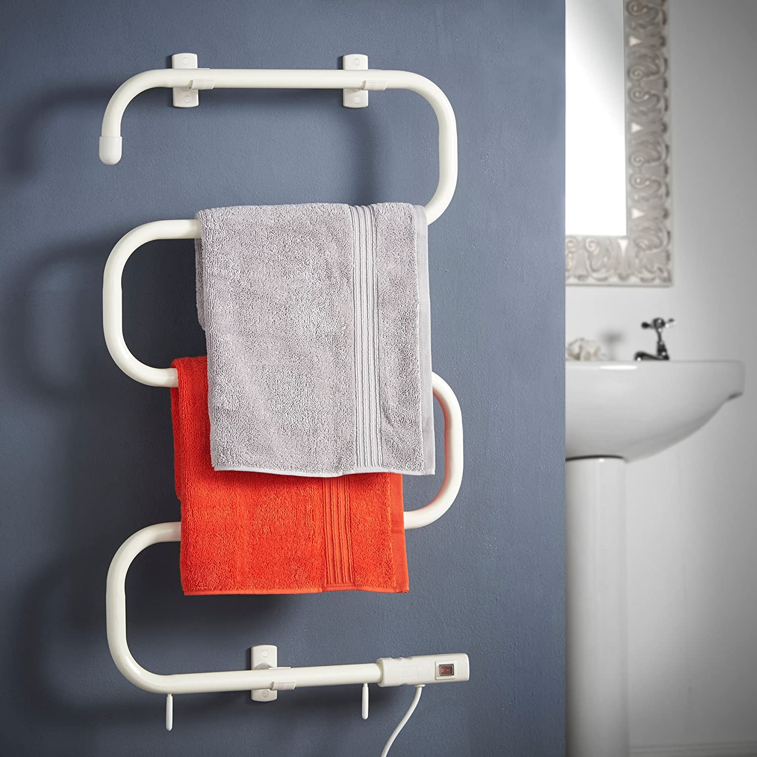 VonHaus Electric Heated Towel Rail