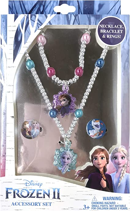 Kids Beads Jewelry Activity Playset Kit Disney Frozen Game Best Gift For Girls