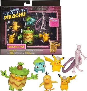 Boti Europe B.V. 97602 Pokémon Multi Pack, 6 figuras, cada una aprox. Tamaño: 5 cm, multicolor: Amazon.es: Juguetes y juegos