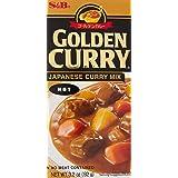 S&B, Golden Curry Sauce Mix, Hot, 3.2 oz