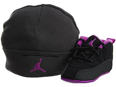 d784405eaec6f Nike Baby Girls Jordan 12 - Pack de Regalo Retro