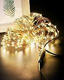 Luces Navidad USB 24M 240 LED, Litogo Regulable Guirnaldas Luces LED Decoracion Impermeable Cadena de Luces LED…