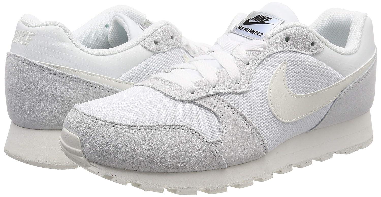 Nike Tenis MD Runner 2 749869102 Blanco Mujer: Amazon