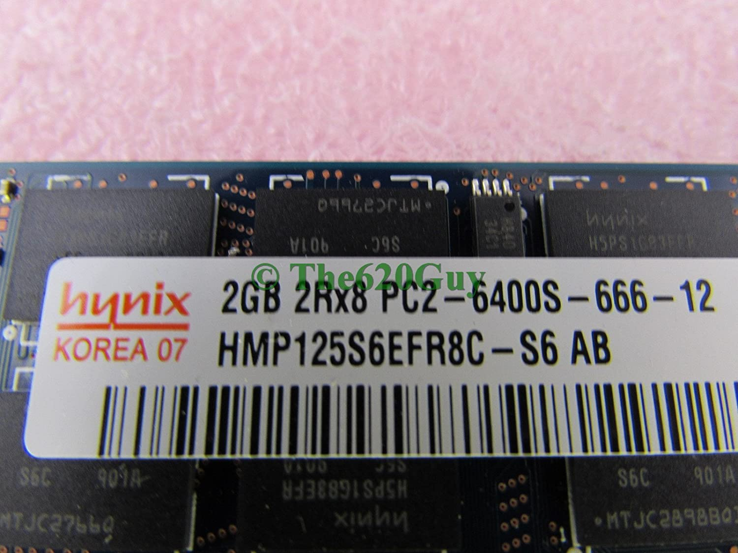 Hynix 4GB 2 x 2GB PC2-6400S DDR2 800 DDR2 SODIMM CL6 Laptop Notebook Memory Kit