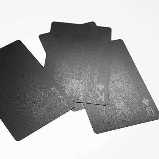 Amazon Com Goody Grams Mollaspace Black Deck Of Cards Home Kitchen