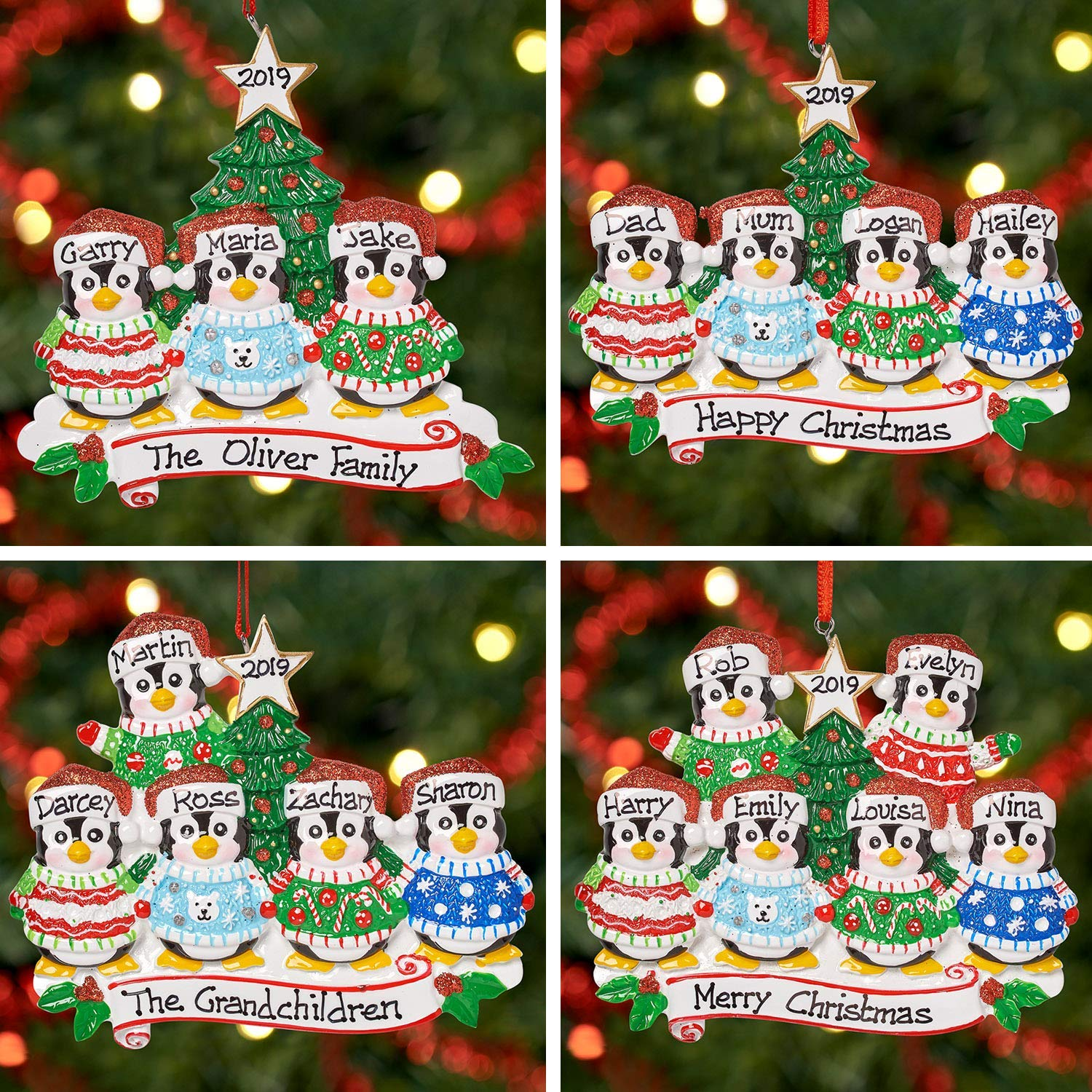 Large Personalised Merry Christmas Snowman Any Text Banner Decoration 5/' X 3/'