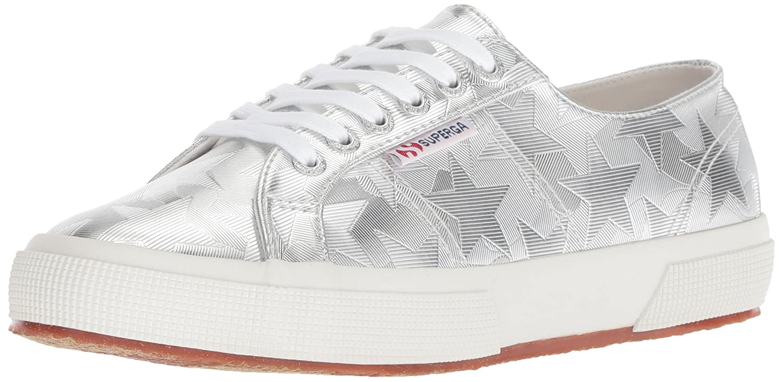 Superga Women's 2750 Starchromw Sneaker B078KCKNW6 37.5 M US|Silver