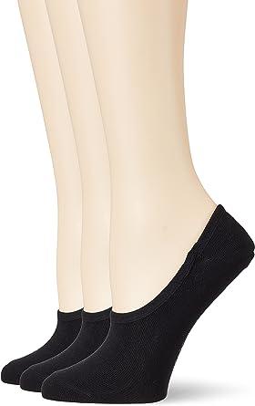 s.Oliver Damen 3er Pack Füßlinge aus weicher Baumwolle Frauen Sneakersocken