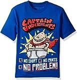 Captain Underpants Boys' Short Sleeve T-Shirt