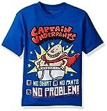 Captain Underpants Boys' Big Short Sleeve