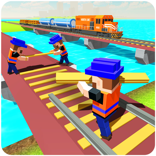 Crane Add (River Train Track Builder & Craft)