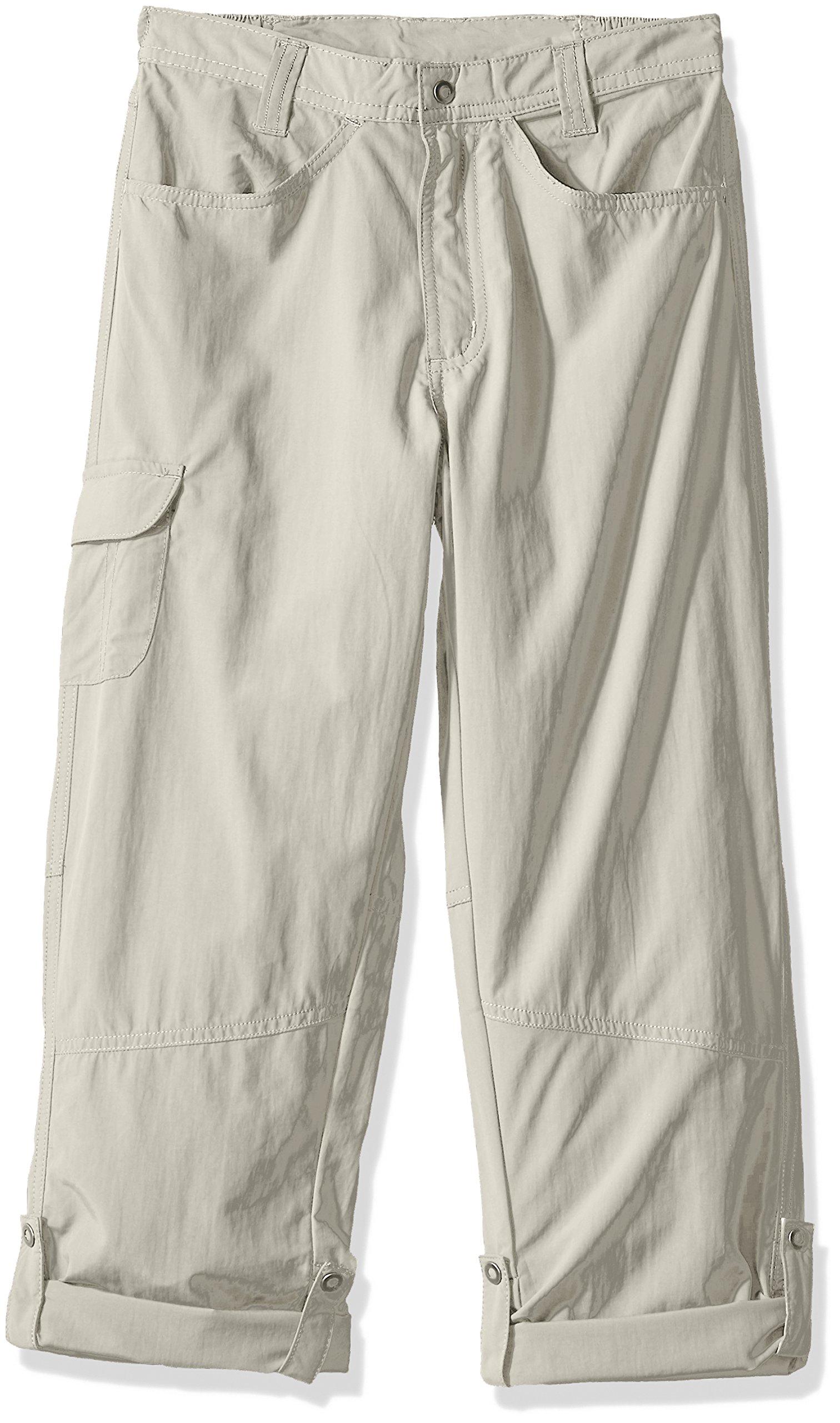 White Sierra Girls Pt. Roll Up Pants, Pale Taupe, Medium