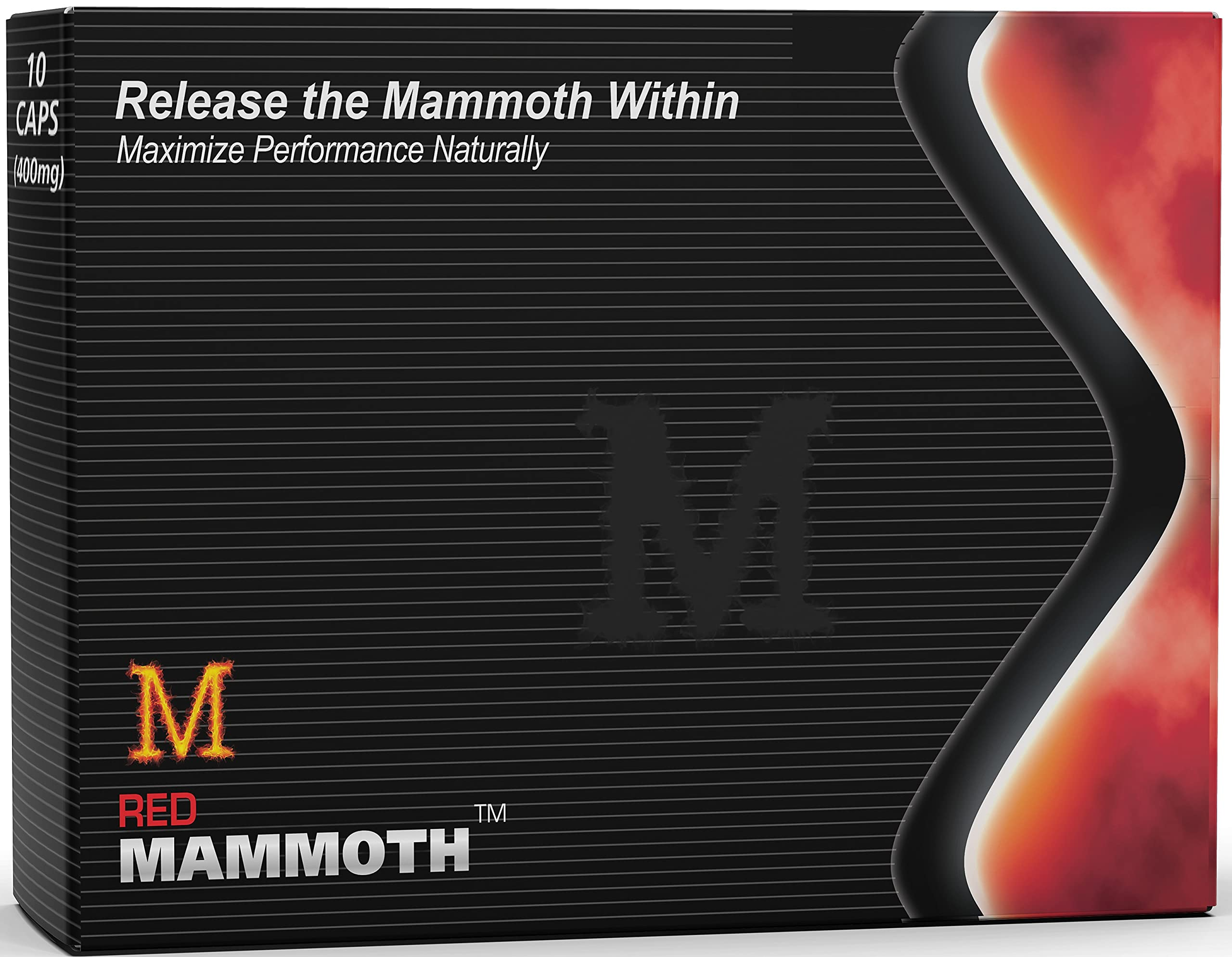 Red Mammoth (20 Caps) All Natural Energy & Strength Supplement