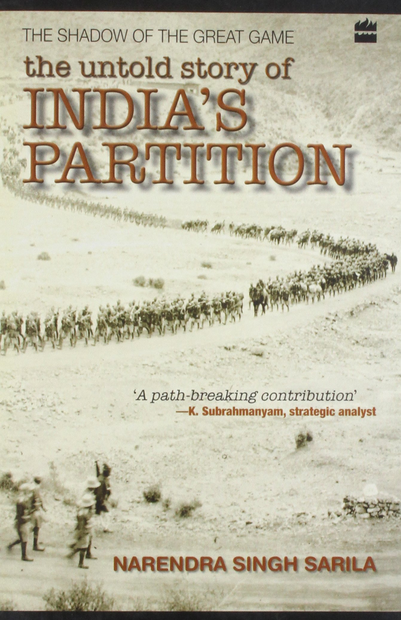 The Shadow Of The Great Game: The Untold Story Of India's Partition:  Amazon: Narendra Singh Sarila: 9788172238742: Books