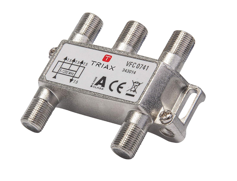Triax Satellite スプリッター 8.3 dB/5-1218 MHz - 4出力 [T343014]   B01BY1GHZU