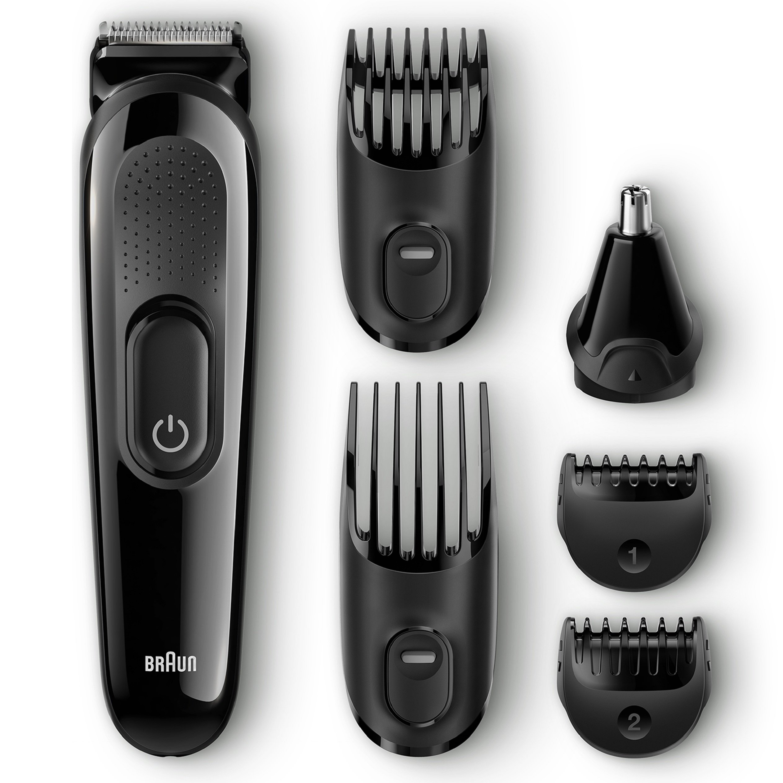 Braun Multi Grooming Kit MGK3020 6-in-1 Hair / Beard Trimmer for Men, Face and Head Trimming
