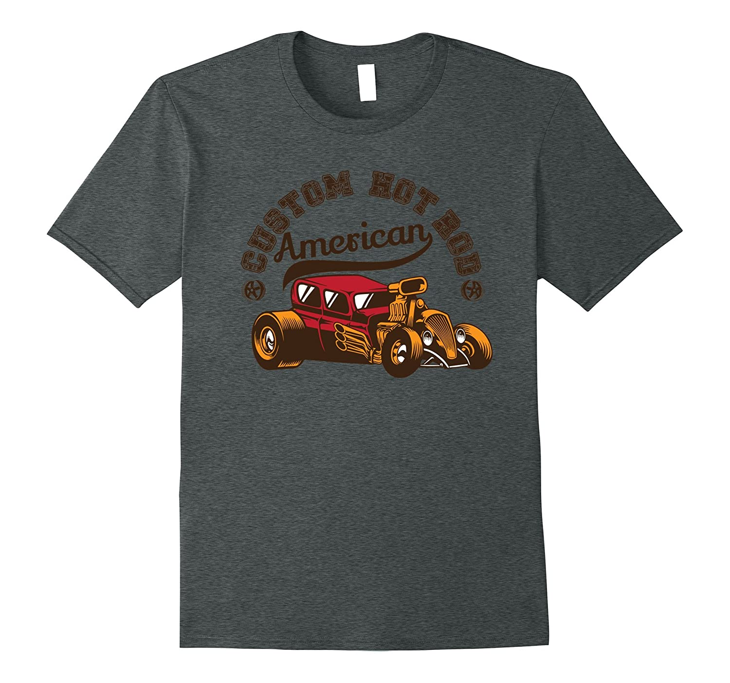 Custom Hot Rod Vintage American Merica Tshirt Tee-Art