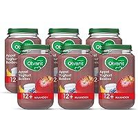 Olvarit Fruithapje - 12 maanden - Appel yoghurt bosbes - 6x 200 gram