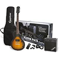 Epiphone Les Paul Electric Guitar Player Package (Vintage Sunburst)
