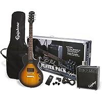 Epiphone Guitar Pack Series Electric Guitar Player Pack, Vintage Sunburst