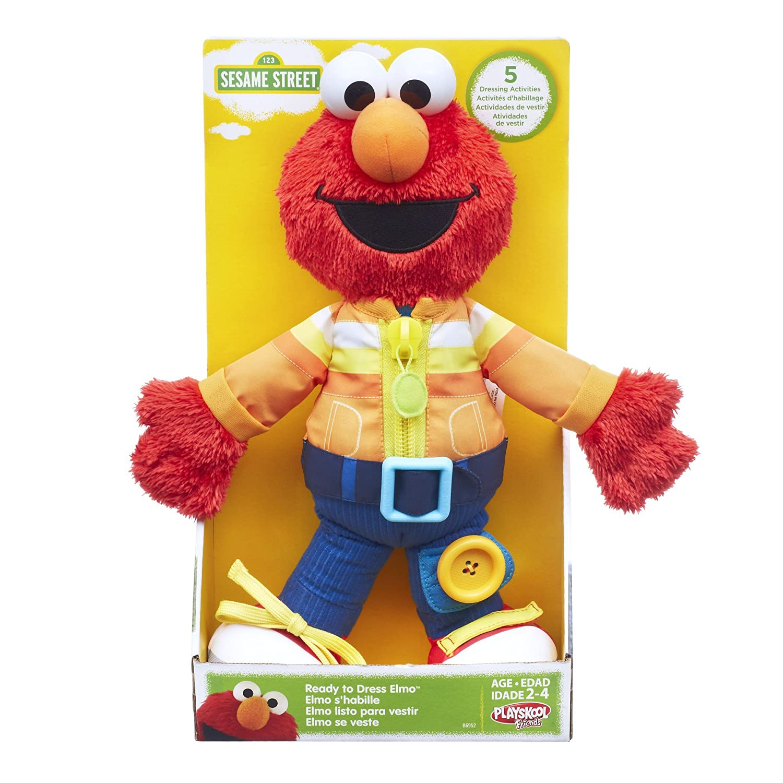 Amazon Playskool Sesame Street Ready to Dress Elmo Toys & Games