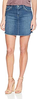 product image for James Jeans Women's Daisy Mid Length Cut-Off Skirt in Retrospect